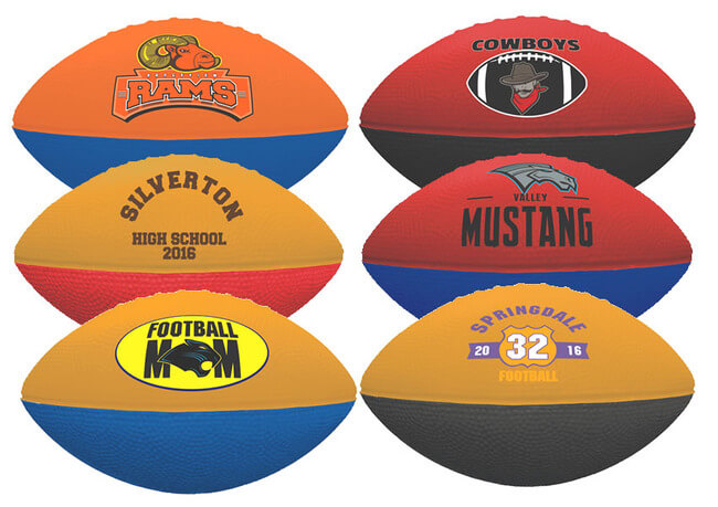 Custom Foam Footballs