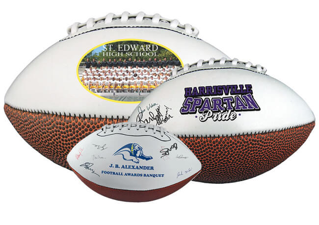 Personalized Signature Footballs