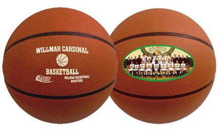 All Types and Colors of Custom Basketballs