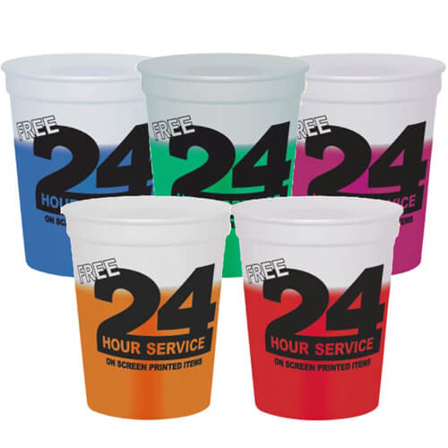 Custom Mood Stadium Cups