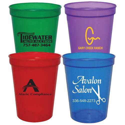 Custom Translucent Stadium Cups