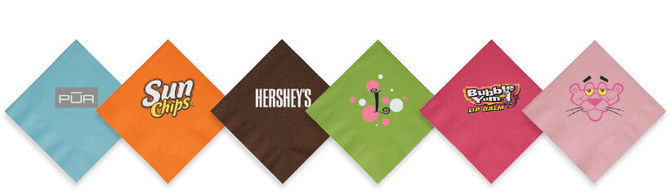 Choices Aplenty With Personalized Cocktail Napkins at Promotion Choice