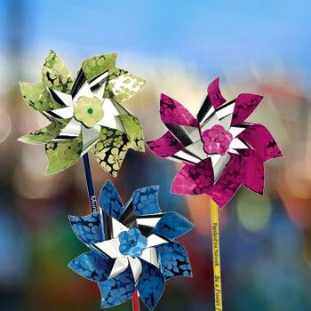 Custom Pinwheels