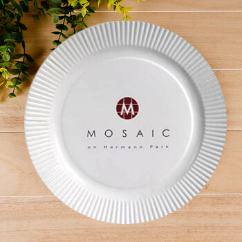 Custom Paper Plates Custom Plastic Plates for Dinner Party Birthday Wedding | Promotion Choice  sc 1 st  Promotion Choice & Custom Paper Plates Custom Plastic Plates for Dinner Party ...