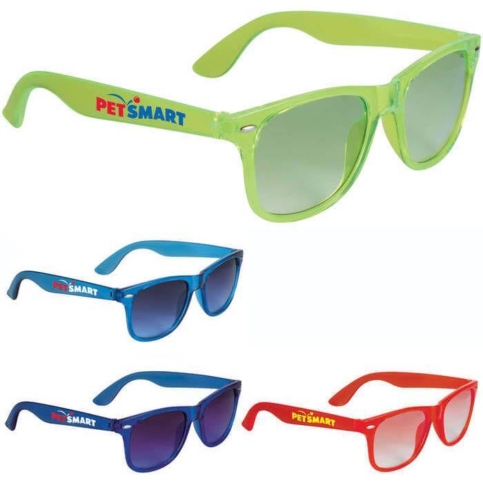 The Sun Ray Sunglasses - Crystal Lens