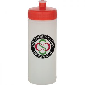16oz Sports Bottle Natural/White