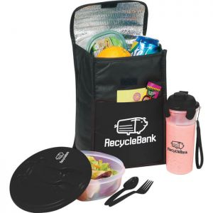Stay Fit Cooler Gift Set Lunch Bags
