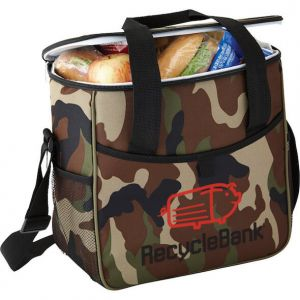 Camo Event Cooler Lunch Bags