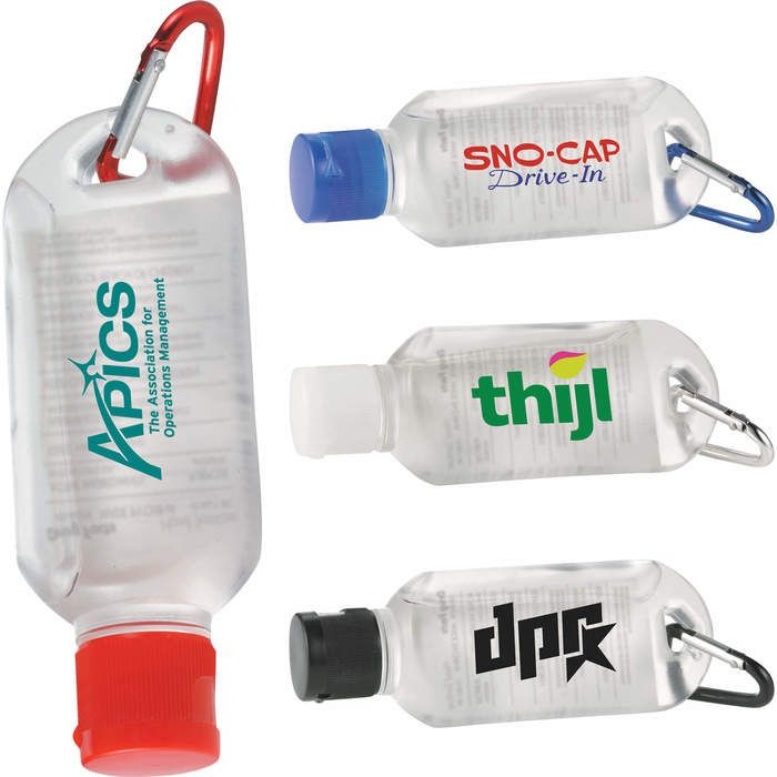 The Clip N Go Hand Sanitizer