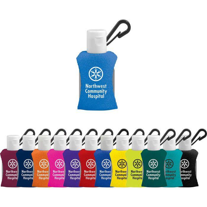 Hand Sanitizer 0.5 oz With Neoprene Sleeve