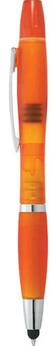 Nash Crystal Pen Stylus Highlighters - Translucent Orange