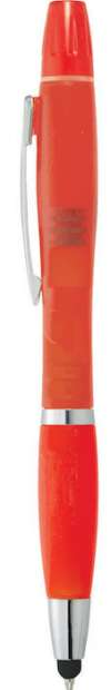Nash Crystal Pen Stylus Highlighters - Translucent Red