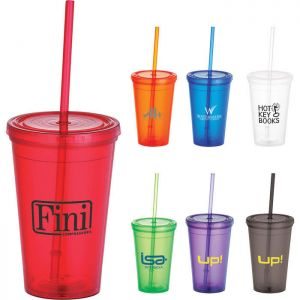 Iceberg 16 Oz Tumbler With Straw