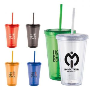 Cyclone 16 oz Tumbler with Straw