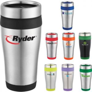 Carmel 16 oz Travel Tumbler