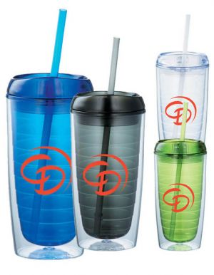 Twister 16 oz Tumbler with Straw