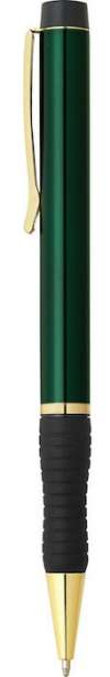 Seville Pen  - Green W Gold Trim