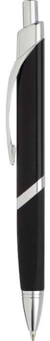 SoBe Pen  - Black W Silver Trim