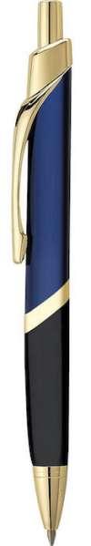 SoBe Pen  - Blue W Gold Trim