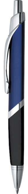 SoBe Pen  - Blue W Silver Trim