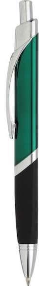 SoBe Pen  - Green W Silver Trim