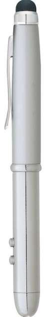 Soverign Stylus Laser Pointer Pens - Silver