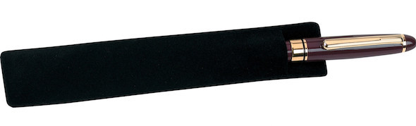 Velvet Pen Pouch - Black