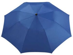 Printed Folding Umbrellas - Seattle Auto Umbrellas - Royal Blue