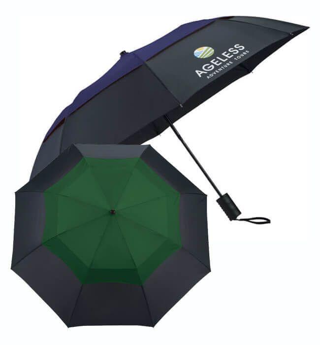 "42"" Color Pop Vented Windproof Umbrellas"
