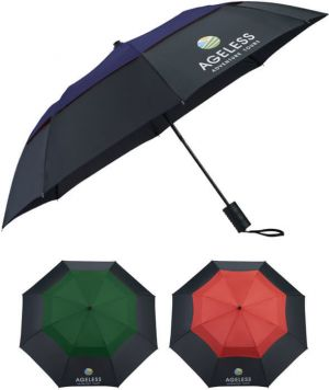 "42"" Color Pop Vented Windproof Umbrellas"