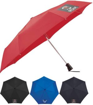 "44"" Totes 3 Section Auto Open Close Umbrellas"