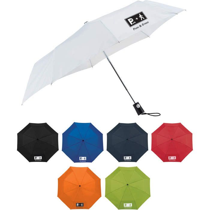 "42"" Totes 3 Section Auto Open Umbrellas"
