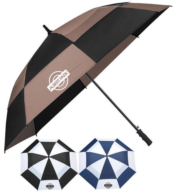 "62"" Totes Auto Open Vented Golf Umbrellas"