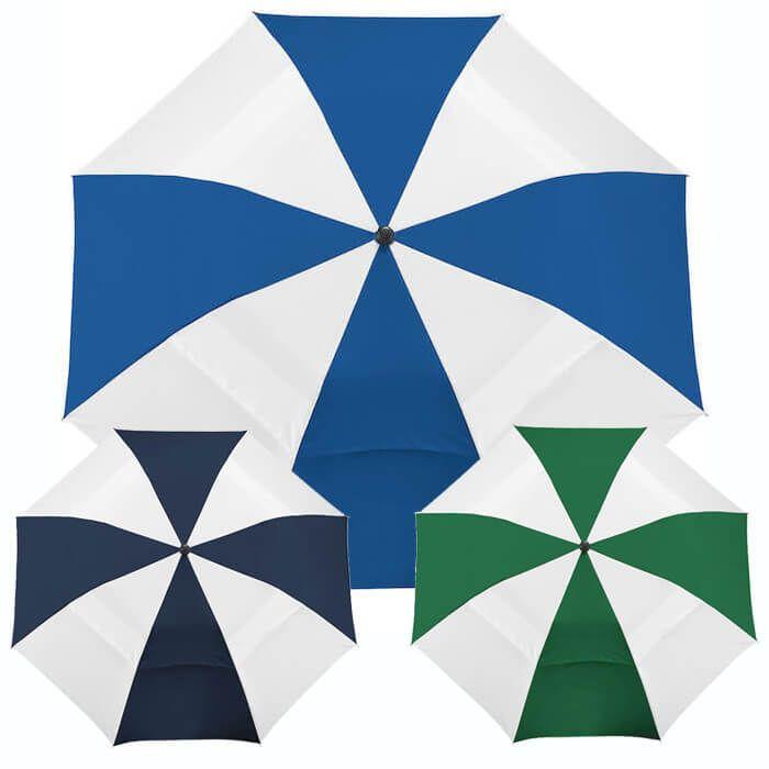 "42"" Vented Auto Open Windproof Slim Stick Umbrellas"