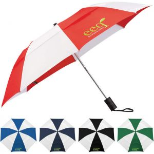 "42"" Vented Auto Open Windproof Slim Stick Umbrellas"