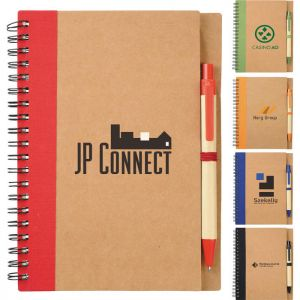The Eco Spiral Notebook & Pen