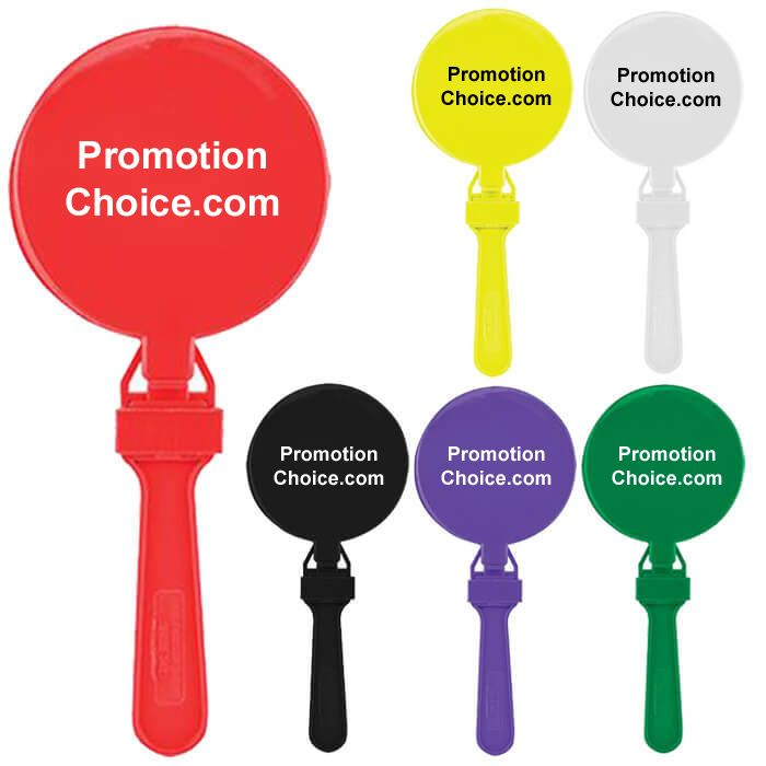 Custom Round Clappers / Printed Noisemakers