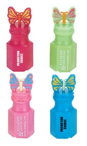 Personalized Butterfly Bubbles