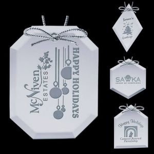 Custom Logo Mirror Ornaments