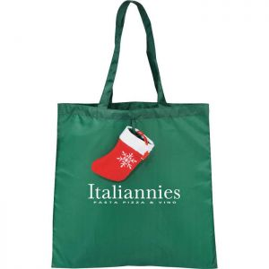 Holiday Stocking Tote Bags