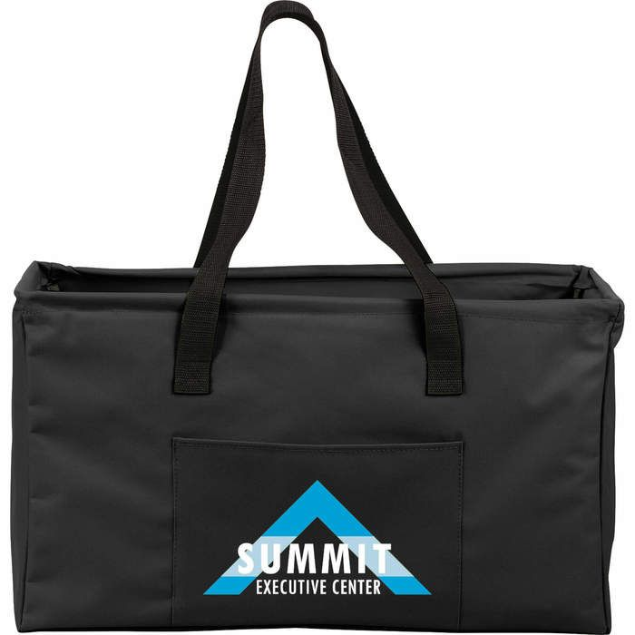 Large Utility Tote Bags - Black