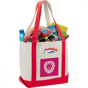 12 oz. Cotton Boat Tote Bags