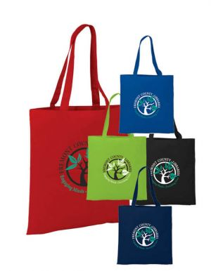 4 oz. Basic Cotton Tote Bags