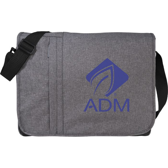 "Urban 15"" Computer Messenger Bag - Graphite"