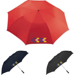 "56"" Auto Folding Golf Umbrella"