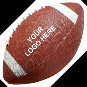 Rubber Footballs 12.5""