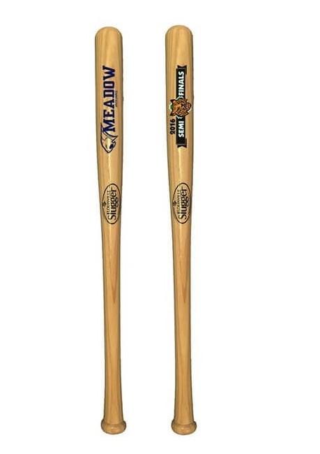 "Custom 18"" Louisville Slugger Bats"