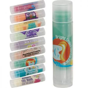 Non-SPF Colorful Lip Balm (Clear Tube)