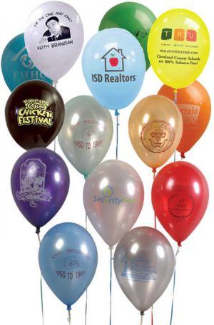 "9"" Custom Balloons"
