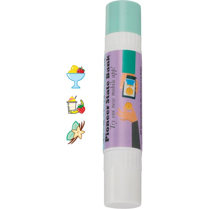 All-Natural Dual-Flavor Lip Balm